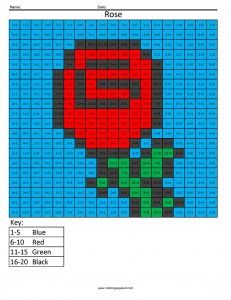 advanced addition sums 1 20 pixel art coloring puzzles free