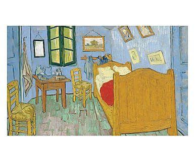 Tappeto multiuso digitale in vinile La Camera da Letto Van Gogh