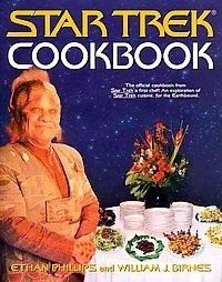 STAR TREK COOKBOOK ENTERPRISE VOYAGER KLINGON DEEP SPACCooking Book, Comics Book, Gift Ideas, Food, Stars Trek, Startrek, Ethan Phillip, Trek Cookbooks, Star Trek