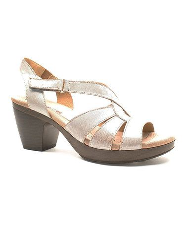 Take a look at this Stone Snow Nancy Sandal on zulily today!