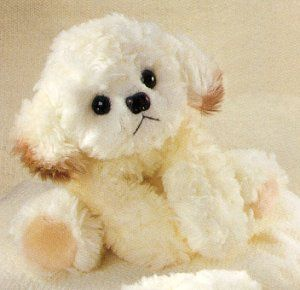 Russ Berrie Stuffed Plush Bichon Frise: Animalsdogsbichon Frieze