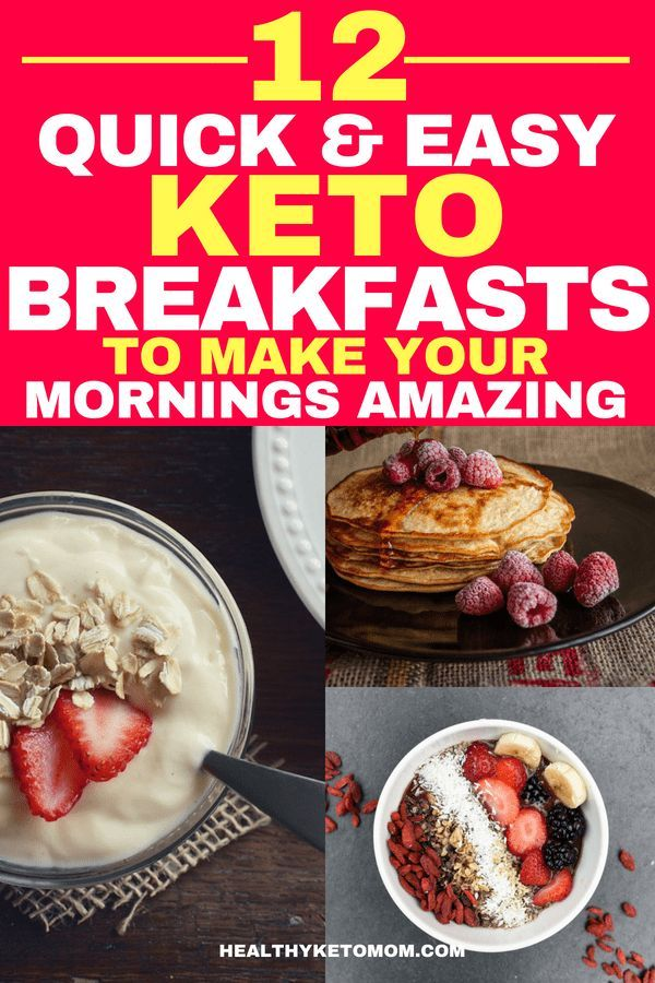 12 Quick Keto Breakfast Recipes To Make Your Mornings Awesome Quick Keto Breakfast Keto Recipes Easy Low Carb Breakfast Recipes