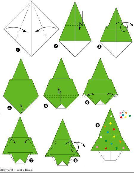 manualidad-de-navidad-para-ninos-arbol-de-origami.jpg (450×579)