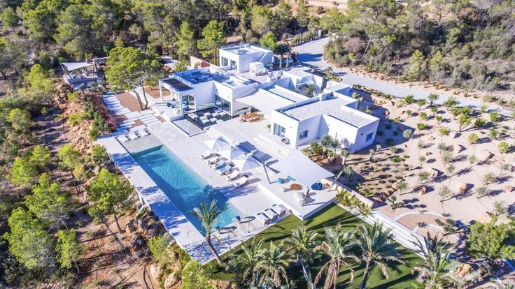 Casa Agua - Ibiza Spain   #Luxury #Villas #Ibiza #Spain #Travel