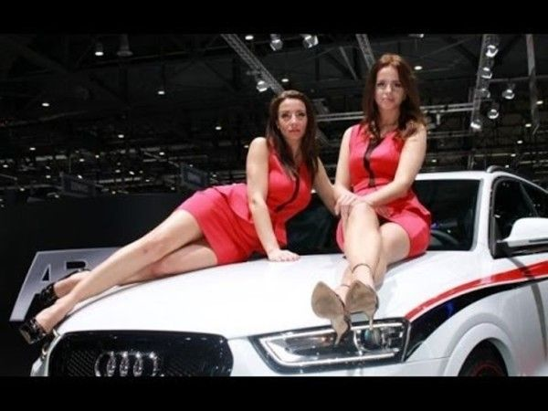 2014 Citroen C XR sport car with sales girls 600x450 2014 Citroen C XR Review, Specification, Price with Images