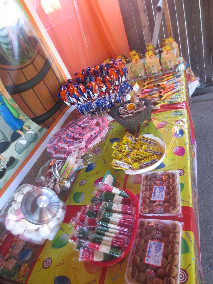 Chavo Del Ocho Party Decorations Dessert Table Set Up