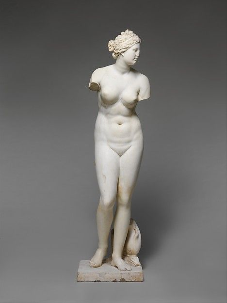 Marble statue of Aphrodite, 1st or 2nd century A.D. Roman. The Metropolitan Museum of Art, New York. Purchase, 1952 (52.11.5)