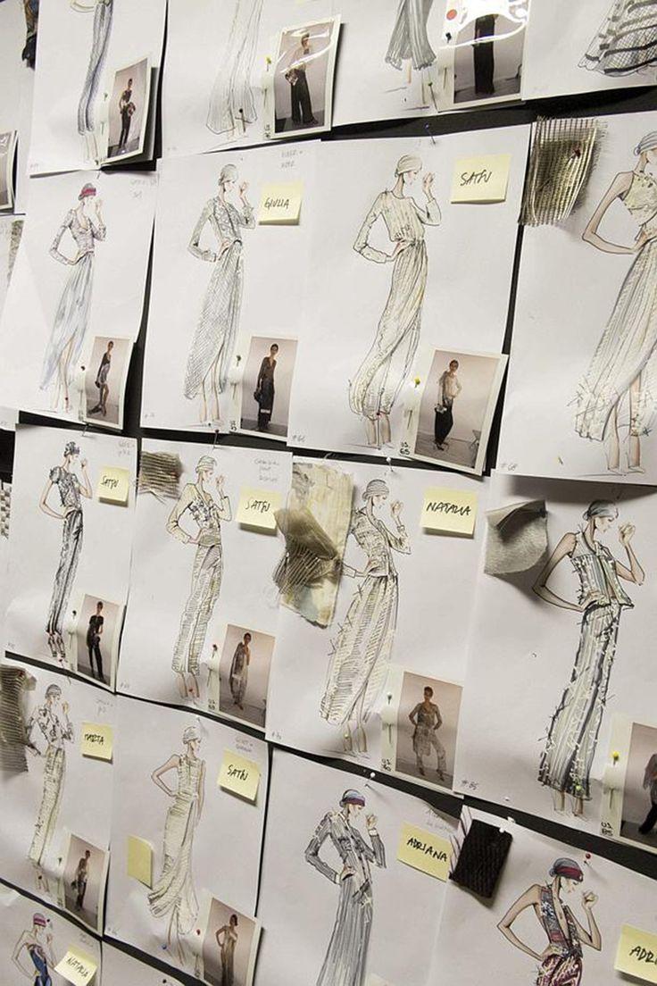 Des idées de silhouettes concrétisées par une centaine de croquis, dont seule la - 4