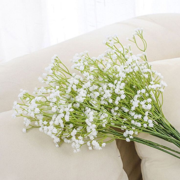Artificial baby's breath Flowers Gypsophila plant Wedding Home Hotel Party Decor #Unbranded