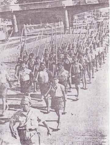 Pasukan kalisosok 10 Nopember 1945 Surabaya