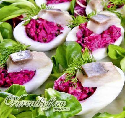 Картофельные тарталетки с сельдью ( подробный рецепт с фото и описанием)