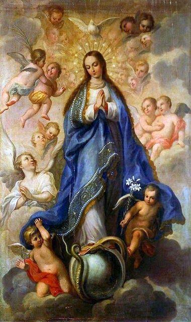 Feliz Día de la Virgen la Inmaculada concepción 8 de Diciembre 2015. https://instagram.com/p/_COgR1CZ6j/