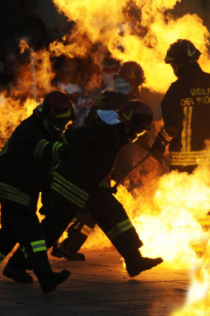 Firemen (Vigili del Fuoco) in Turin (Torino) | da matteo | sartori