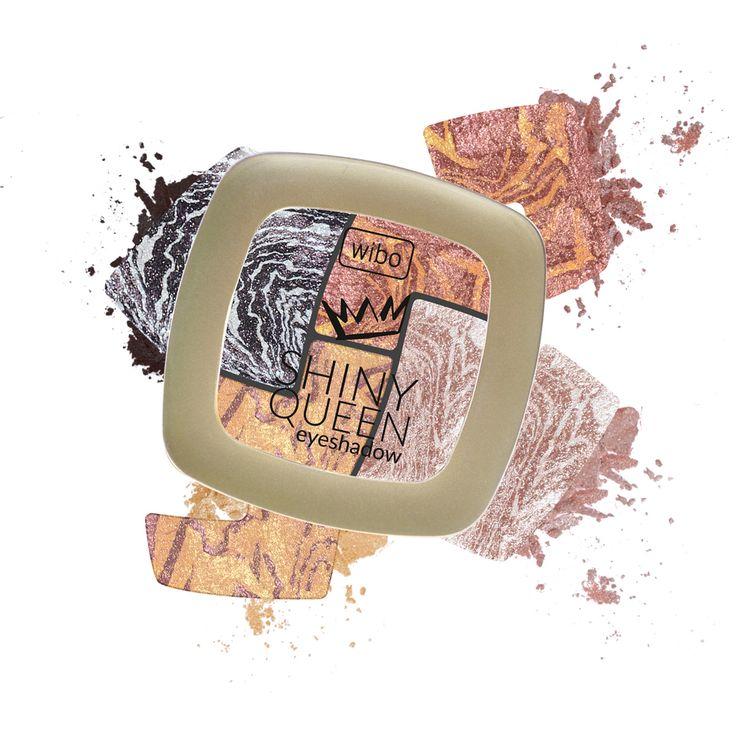 SHINY QUEEN Innowacyjna formuła cieni zapewnia maksimum połysku. Rozświetla makijaż oka, nadając blask i świeżość spojrzeniu.
