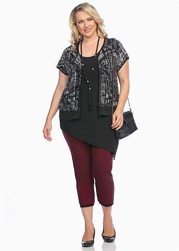 #TS Decree Vest #plussize #curvy #takingshape