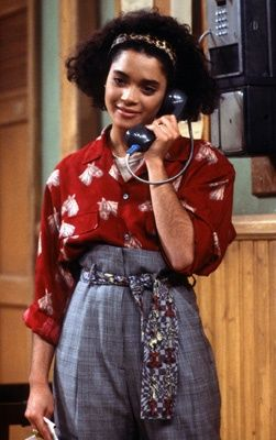 Lisa Bonet as Denise Huxtable on Payphone in A Different World