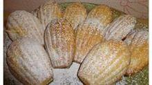 Яблочные мадлены - вкуснейшее печенье!Рецепт с сайта А. Скрипкиной. Продукты: Мука-150 г, Разрыхлитель-1 ч. л., Сливочное масло (или маргарин)-100 г, Сахар - 120 г, Яйцо - 2 шт, Яблочное пюре -120 г