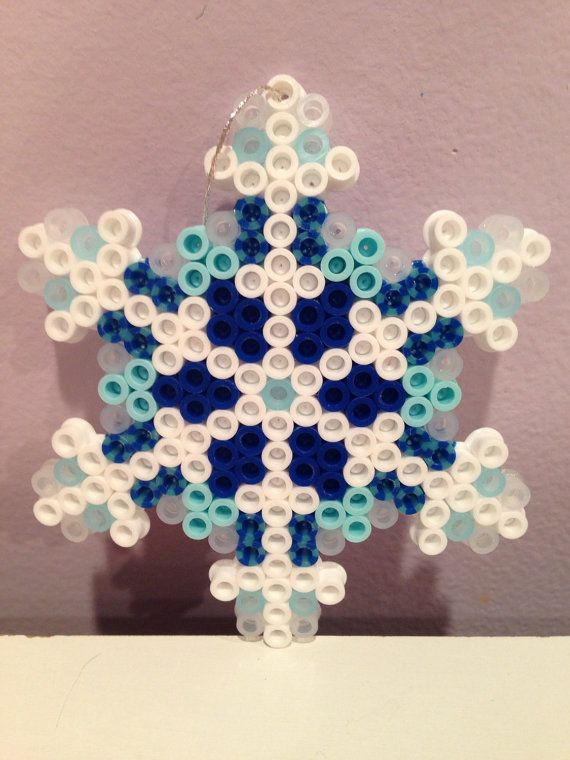 Disney Frozen perler bead Christmas Ornament set with by katie822