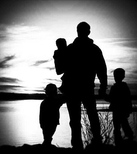 бесплатные силуэт семьи тату фото виду
