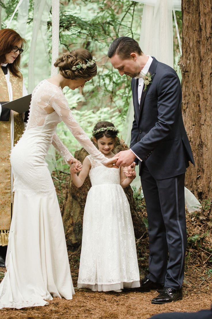 37 best images about cla mariage on pinterest tulle dress girls romance in the redwoods a forest wedding junior bridesmaid dressesbride ombrellifo Gallery