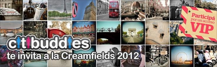 Design a t-shirt for citibuddies & win tickets for Creamfields BsAs!