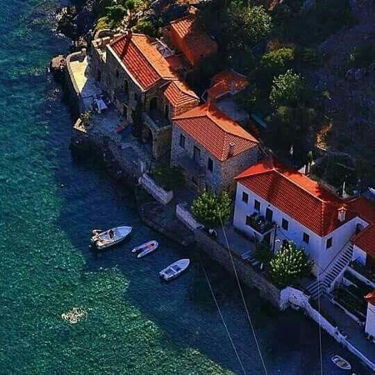 Kyparissi, Peloponnese, Greece
