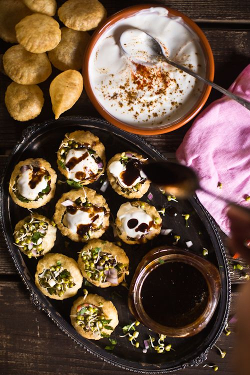 Homemade Sprouts And Sprouts Chaat Papdi @FoodBlogs