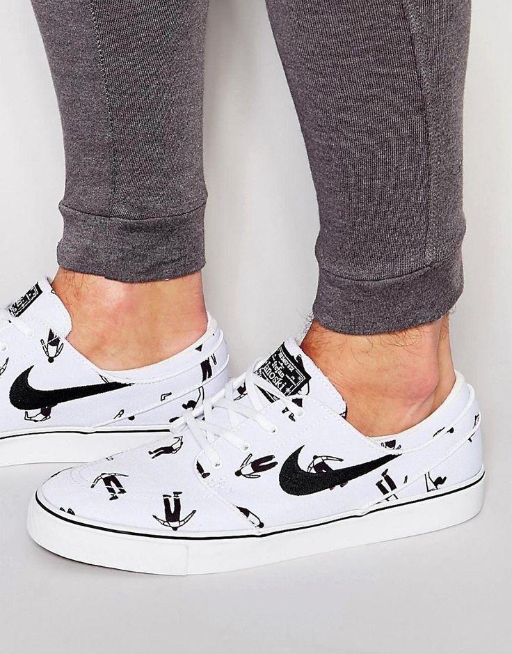 Immagine 1 di Nike SB - Zoom Stefan Janoski 705190-101 - Scarpe da ginnastica di tela