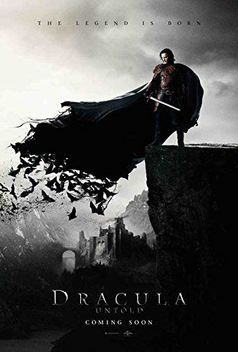 Dracula Untold Movie Poster 27 x 40 Style A 2014 Unframed @ niftywarehouse.com #NiftyWarehouse #Dracula #Vampires #ClassicHorrorMovies #Horror #Movies #Halloween #Vampire