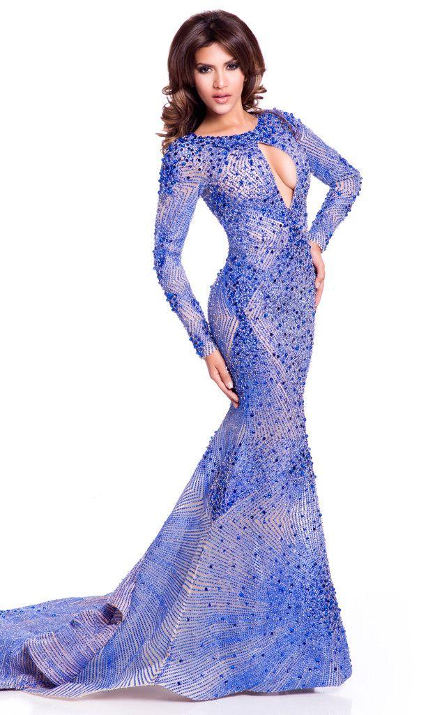 Mejores 14 imágenes de Evening Gowns en Pinterest | Vestidos de ...