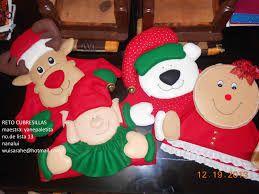 Resultado de imagen para cubresillas navideños fantasias miguel