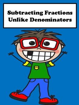 The 25 best add fractions with unlike denominators ideas on subtracting fractions students will learn how to add fractions with unlike denominators using this no ccuart Images
