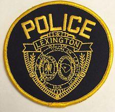 Lexington South Carolina Police  Patch