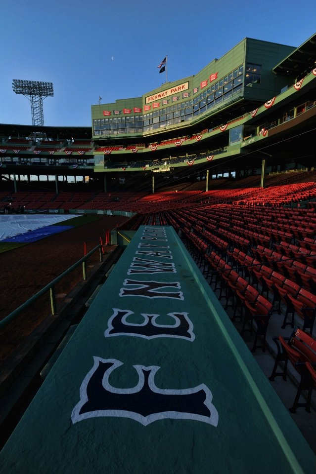Fenway Park, not a huge baseball girl, but feel like I should visit someday just because...photo credit: Mike Ivins/Boston Red SoxFenway Park