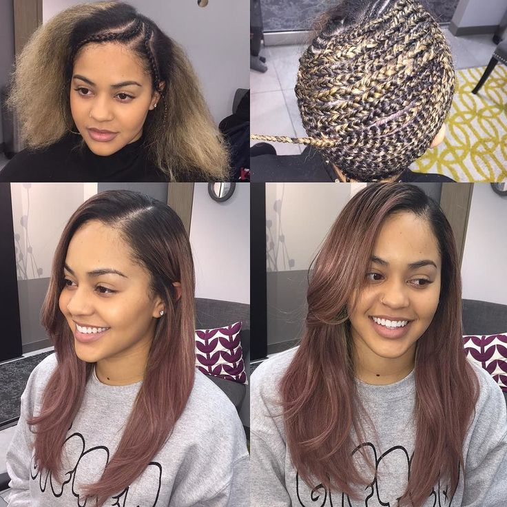Phenomenal 1000 Ideas About Sew In Hairstyles On Pinterest Sew Ins Sew In Short Hairstyles Gunalazisus