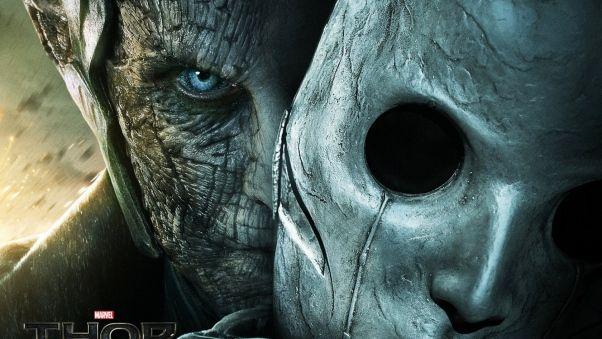 Обои тор 2 царство тьмы, thor the dark world, 2013, темный эльф, ожог, маска