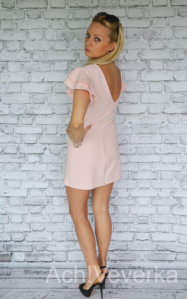 Różowa sukienka O.N.E Fashion. AchVeverka.pl #różowa #sukienka #pink #dress #achveverka