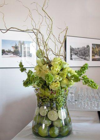 Wedding, Flowers, Reception, White, Green, Brown, Arrangement, Cesaro designs - Project Wedding