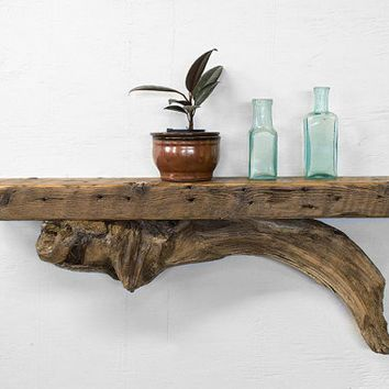 25 best ideas about driftwood shelf on pinterest custom Reclaimed wood wall art for sale