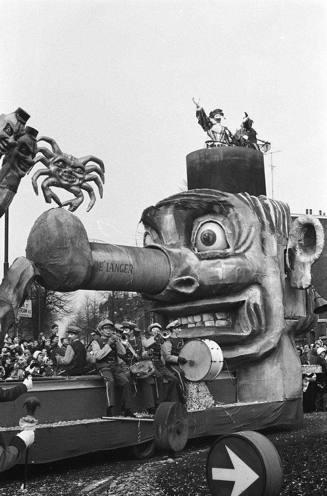 Carnaval in Bergen op Zoom, 1962