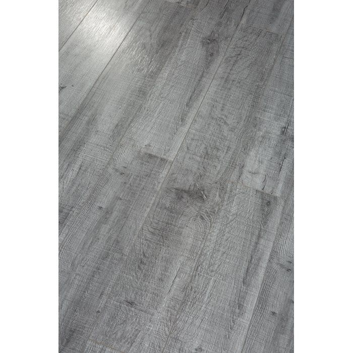 Pearl Leather 8 X 49 X 12mm Laminate Flooring In Gray Home