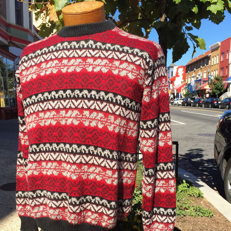 """Winter Crew Sweater"" 100% Baby Alpaca Blend - by Intiwari - $89"