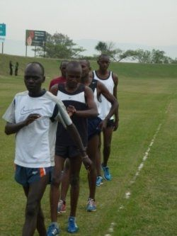 Enter 8 top international athletes from Kenya. I'm talking good - REALLY good athletes - those whose living is made from running and winning races. Those whose families depend on them running and winning those races.~ Tragic South Africa, Where Your Running Shoes Are Worth More Than Your Life