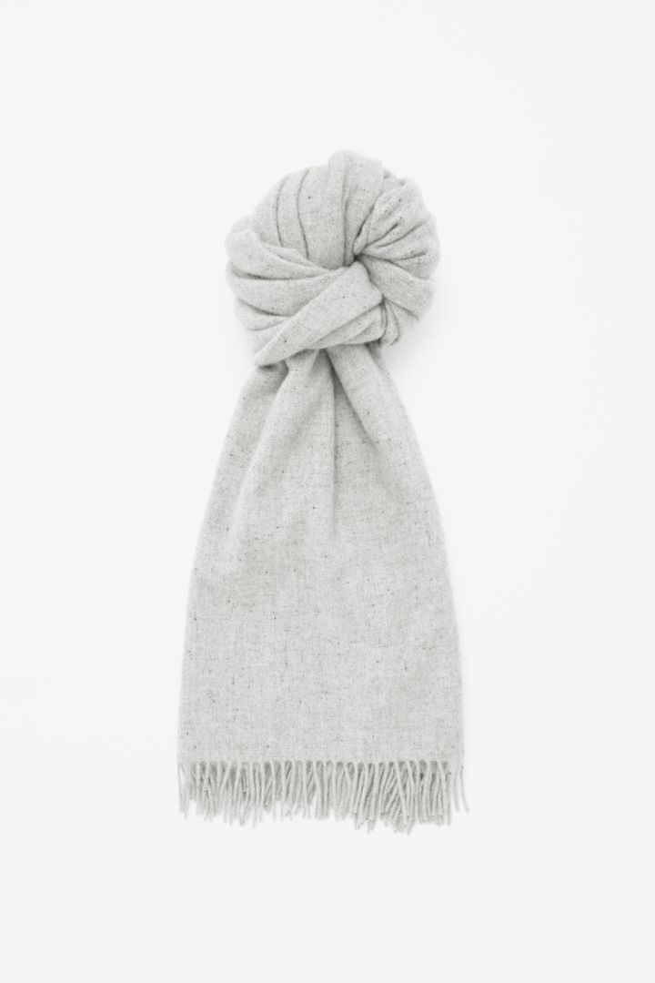 COS | Speckled wool scarf