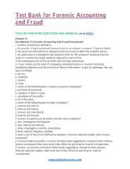 download Test Bank for Forensic Accounting and Fraud.pdf
