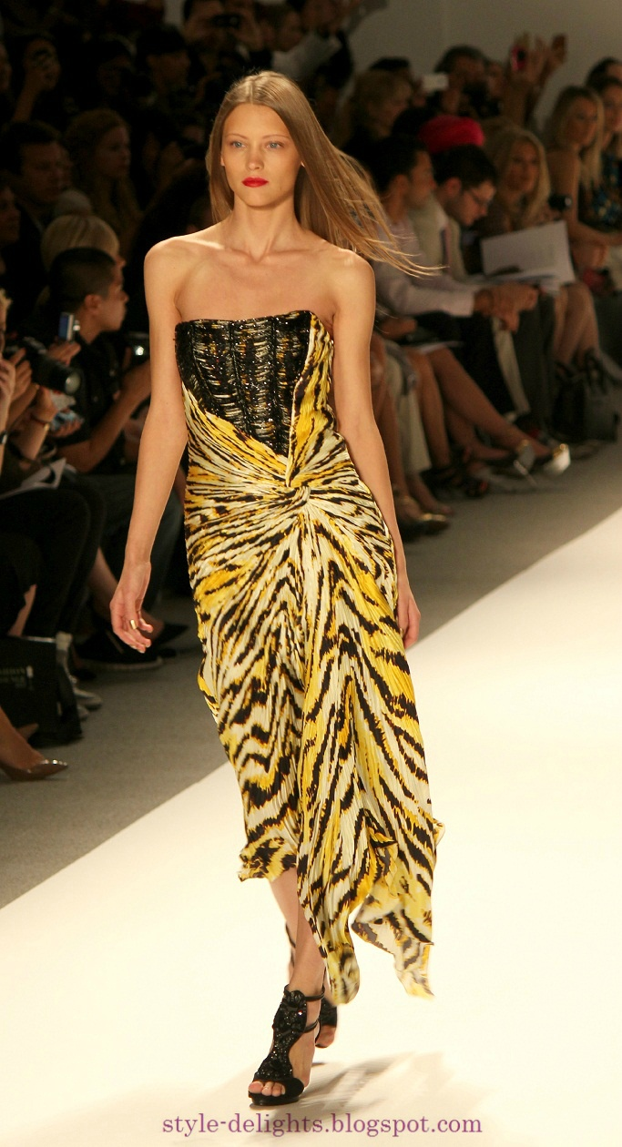 Its a jungle out there: Carlos Miele Spring 2013 collection at NYFW