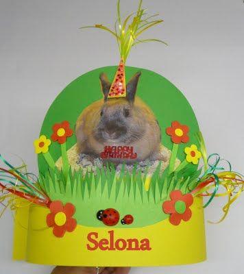 Syl's Verjaardagsmutsen - Syl's Birthday Hats