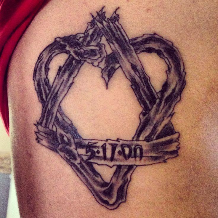 My adoption symbol tattoo
