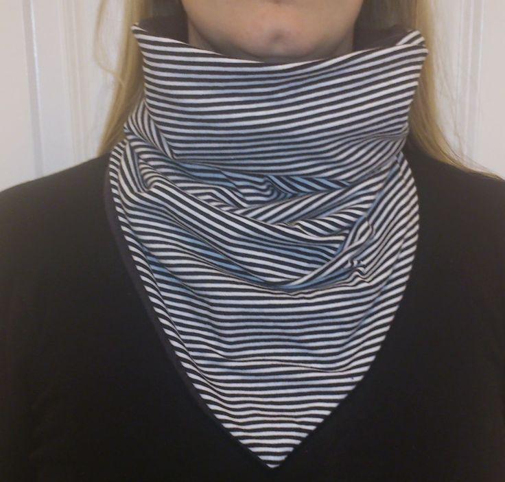 #tutorial #sheetah #sjalbuff #turtleneck #warm #winter #scarf #sewing
