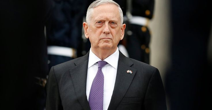 "Photo              Defense Secretary Jim Mattis told reporters, ""I agree with the president we should not be talking right now"" to North Korea.                                      Credit             Alex Brandon/Associated Press                      WASHINGTON — Defense Secretary Jim Mattis..."